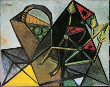 ablo Picasso, Nature morte à la corbeille de fruits, 1942, Olio su tela, Collezione privata ©Succession Picasso, by SIAE 2011