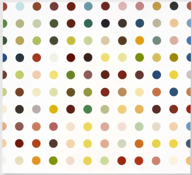 DAMIEN HIRST,1992, Aminoantipyrine © Damien Hirst and Science Ltd. All rights reserved, DACS 2011. Courtesy Gagosian Gallery. Photographed by Prudence Cuming Associates