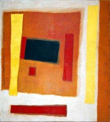 Valentino Vago, Senza titolo, 1960 tempera su carta intelata