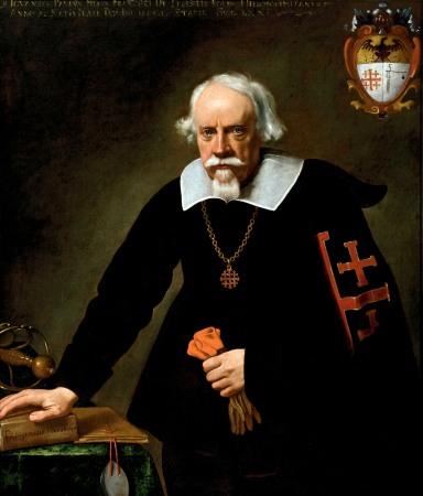 Carlo Ceresa, Visione di san Felice da Cantalice con il donatore, Nese - Chiesa S Giorgio, Foto Marco Mazzoleni