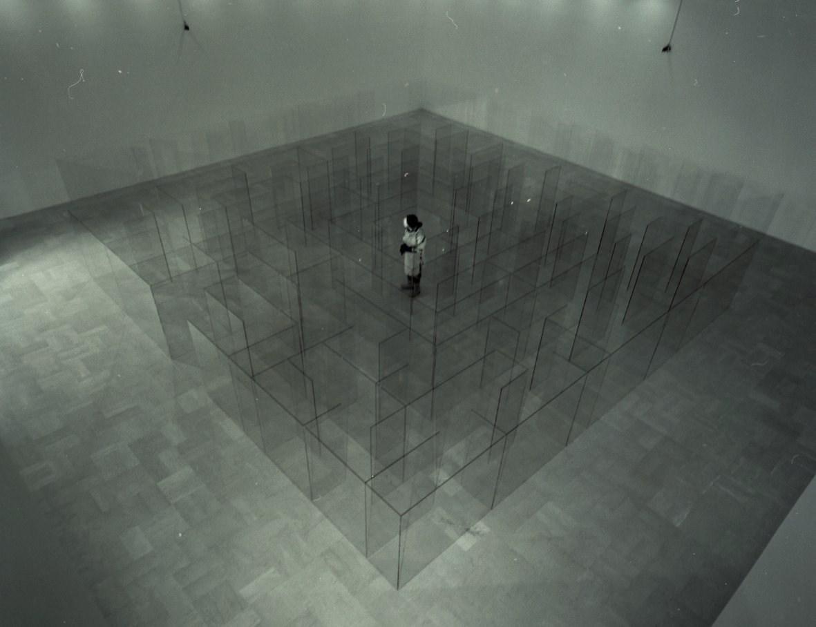 Aurelio Amendola - Claudio Parmiggiani, Bologna, 2003