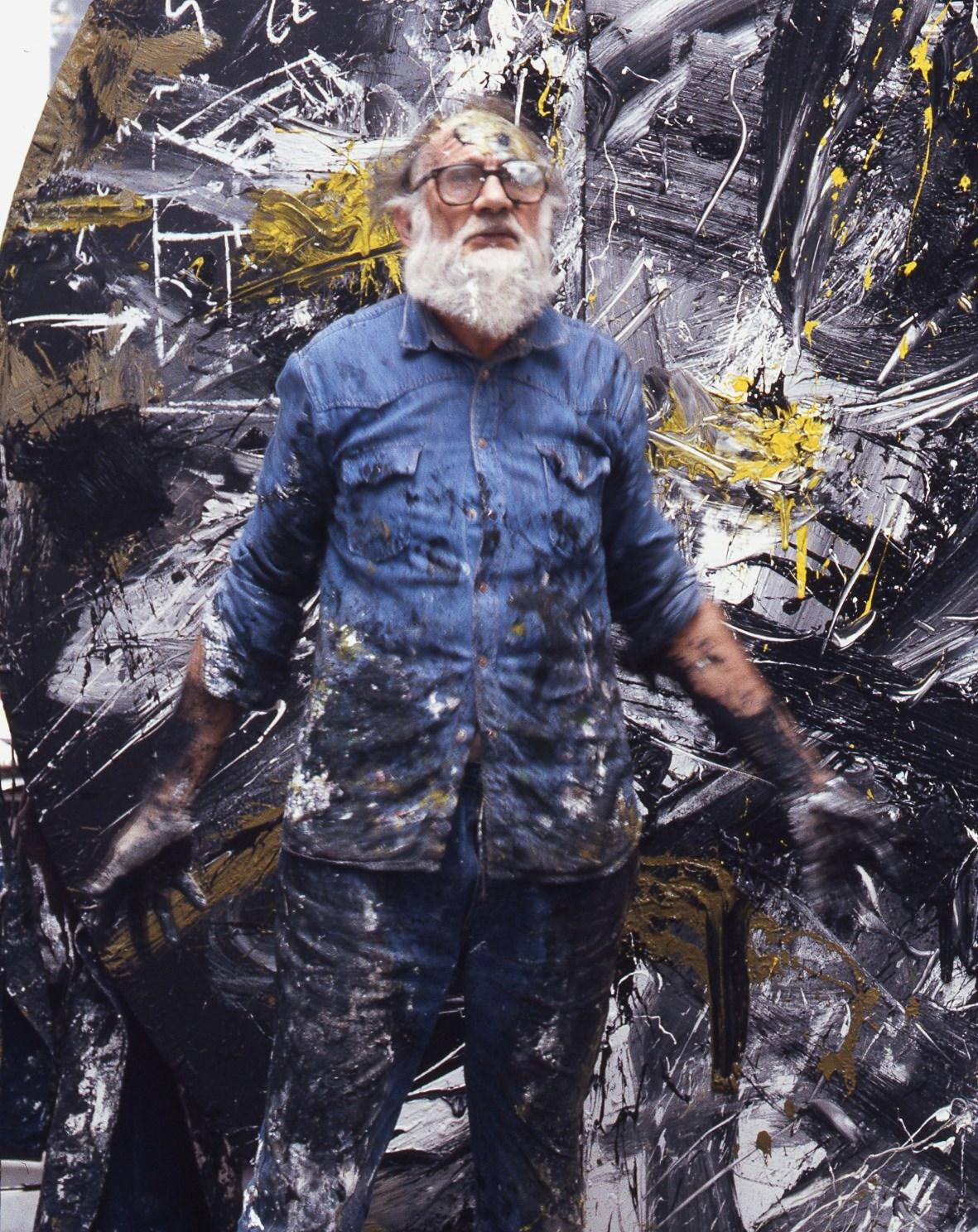 Aurelio Amendola - Emilio Vedova, Venezia, 2003