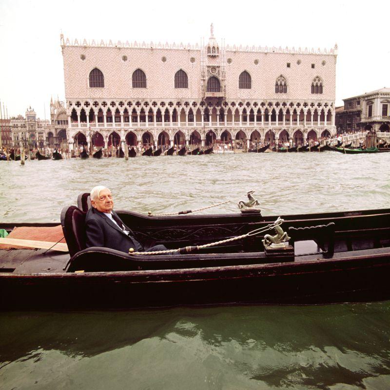 Aurelio Amendola - Giorgio De Chirico, Venezia, 1973