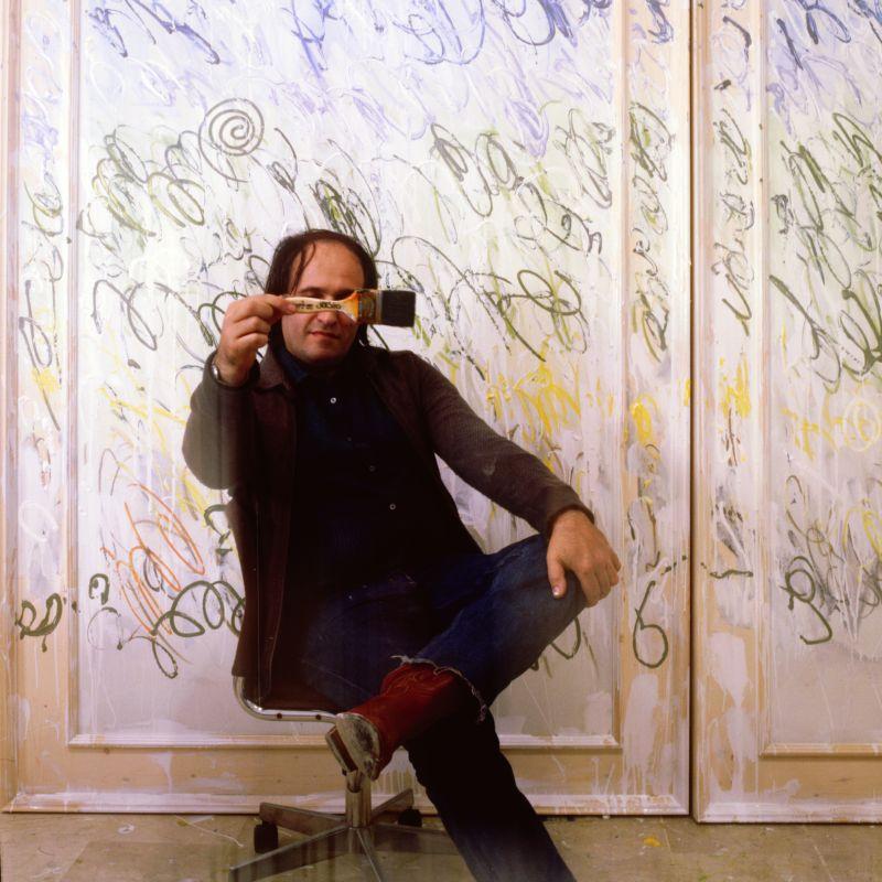 Aurelio Amendola - Mario Schifano, Modena, 1982