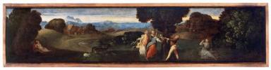 Tiziano Vecellio, Nascita di Adone, olio su tavola, ante 1511, Padova, Musei Civici, Museo d'Arte Medievale e Moderna