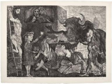 Pablo Picasso, La Minotauromachia, 1935 Acquaforte e raschietto, Collezione privata © Succession Picasso, by SIAE 2012