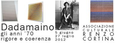 Dadamaino, gli anni '70, Galleria Cortina, Milano arte expo cultura