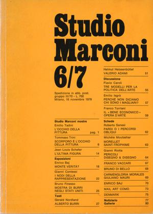Fondazione Marconi per Milano Arte Expo