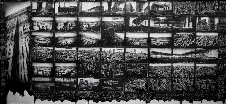 Jonathan Guaitamacchi, BRITISH BLACK SINAPSI 2012, CM 150 X 330