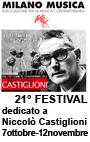 Milano Musica 2012 Castiglioni Arte