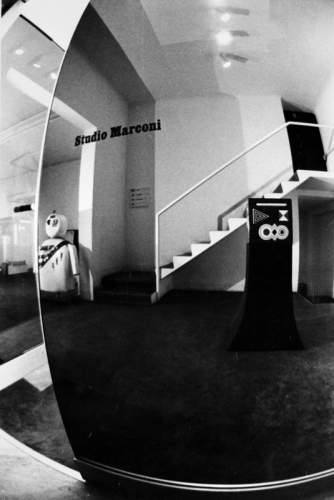 Studio Marconi, October 1976, photograph Enrico Cattaneo