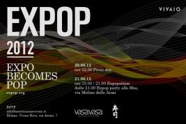 Milano Expo 2015, EXPOP 2012 - Expo Becomes Pop, prima iniziativa di Vivaio