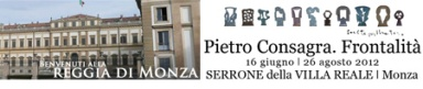 Pietro CONSAGRA Frontalità, Serrone della Villa Reale di Monza, Milano arte mostre