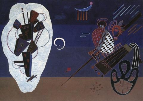 V. Kandinskij, Isolamento