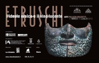 ETRUSCHI a Palazzo Mazzetti, Asti, prorogata, mostre vicino Milano arte expo, ufficio stampa CLP Relazioni Pubbliche