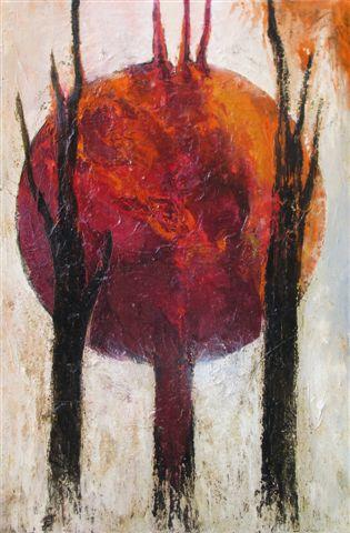Gioni David Parra, Cyrano the insider II, 2012, tecnica mista su carta intelata, cm 150 x 100 cm, IL SOGNO DELLA PASSIONE