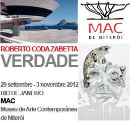 Roberto Coda Zabetta VERDADE,  MAC Museu de Arte Contemporânea de Niterói, Milano arte expo