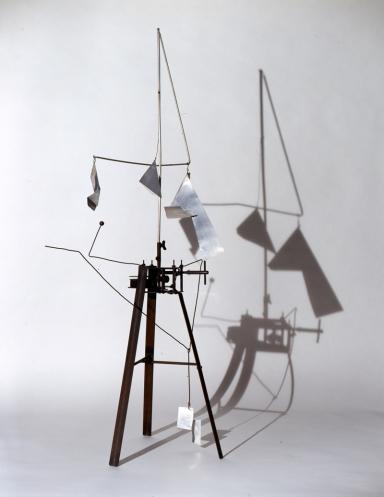 BRUNO MUNARI My Futurist Past, Estorick Collection of Modern Italian Art, Useless Machine (Arrhythmic Carousel)