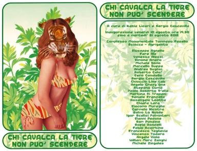 Chi cavalca la tigre non può scendere, Milano arte expo mostre e artisti