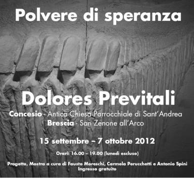 Dolores Previtali POLVERE DI SPERANZA, Milano Arte Expo