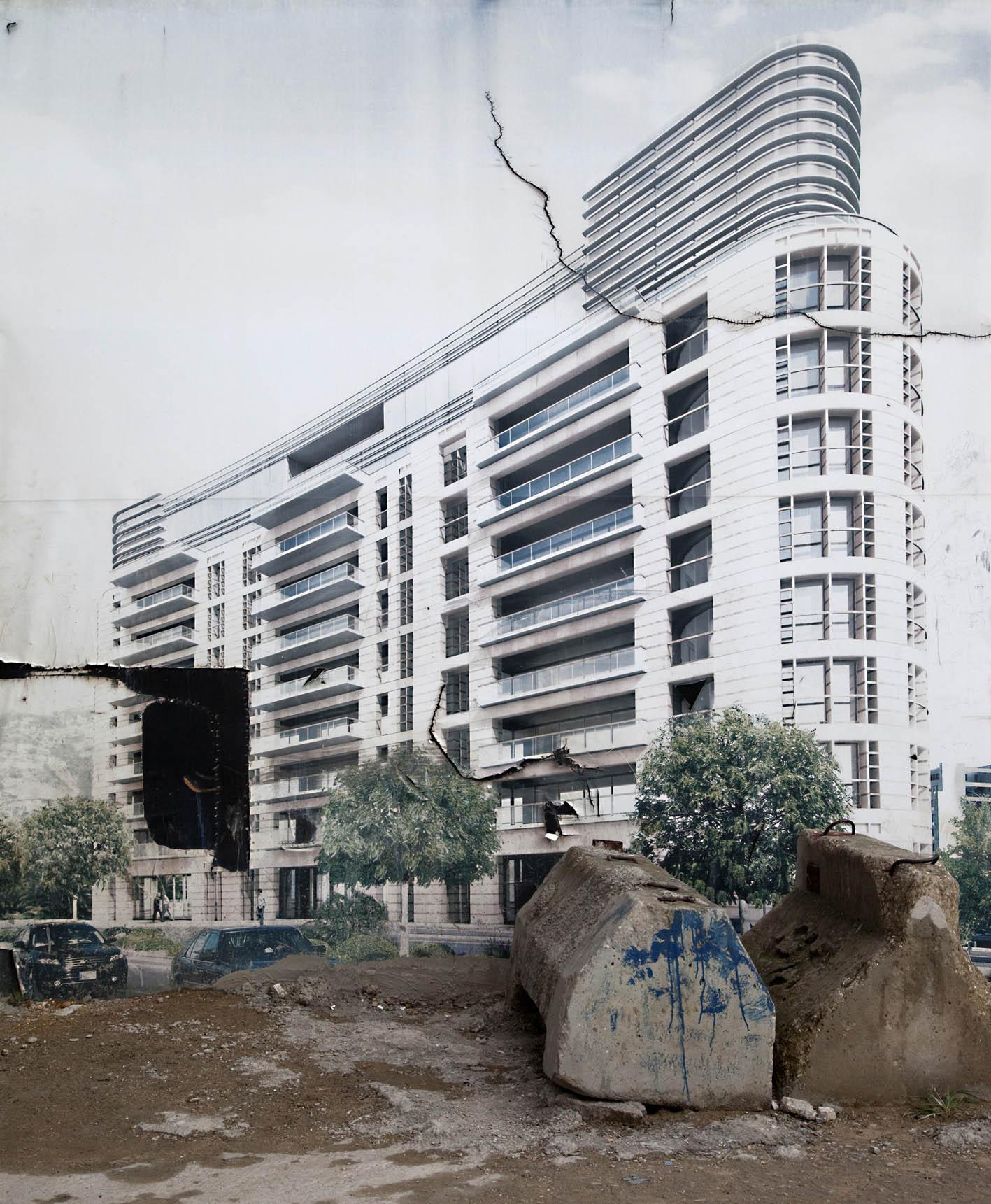 QUATTROCENTOMETRIQUADRI Gallery - BEIRUTOPIA, RANDA MIRZA - a charming residential building, Milano Arte Expo