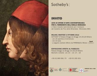 asta Sotheby's 2 ottobre 2012