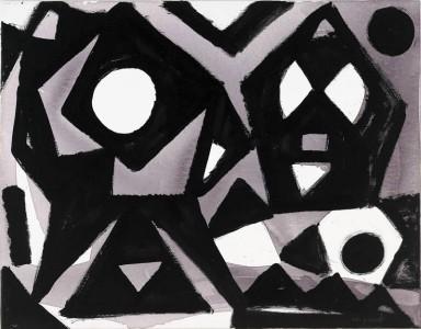 galleria Cardi Black Box Milano, A.R. Penck, Wahl, 2007, arte expo mostre