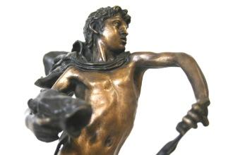 GAM Milano VINCENZO GEMITO, Giovinezza di Nettuno, 1910, bronzo.