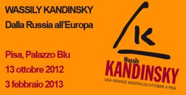 Kandinsky, Palazzo Blu di Pisa, Milano Arte Expo