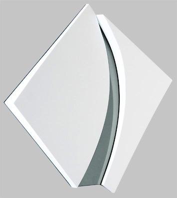 Milano arte contemporanea, Silva Cavalli Felci, Divergenza, 2012, schiuma poliuretanica e specchio, 75 x 75 cm