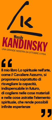 Milano arte expo, Kandinsky, mostra a Palazzo Blu di Pisa