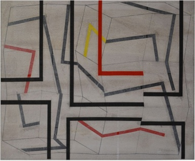 Milano Arte, Franco Tripodi, Misura dell'ordine, 2007, cm 60 x52, galleria Spaziotemporaneo