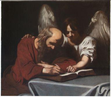Milano Expo e Arte, Nicolas Régnier 'San Matteo e l'angelo'