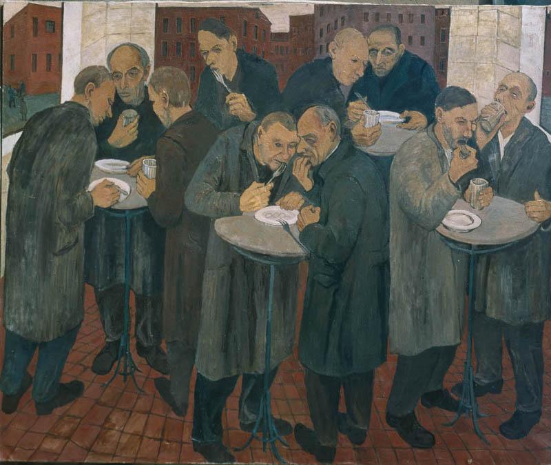 Milano mostre arte contemporanea, Maxim Kantor, Fondazione Stelline
