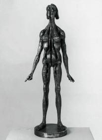 mostra di Agenore Fabbri, galleria Cortina Arte Contemporanea