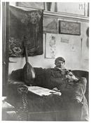 PABLO PICASSO, Self portrait in his studio 1910, Picasso a Milano Palazzo Reale