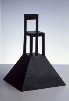 Sotheby's - Alessandro Mendini, Lassù, 1983, bronzo, cm 29 x 19.5 x 20