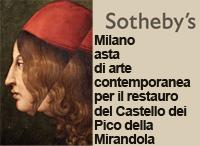 Sotheby's asta di arte contemporanea per il restauro del Castello dei Pico della Mirandola