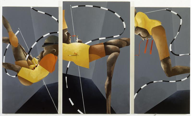 TADINI a Fondazione Marconi Milano, mostra di Emilio Tadini