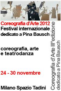 Danza Contemporanea Milano Coreografia d'Arte