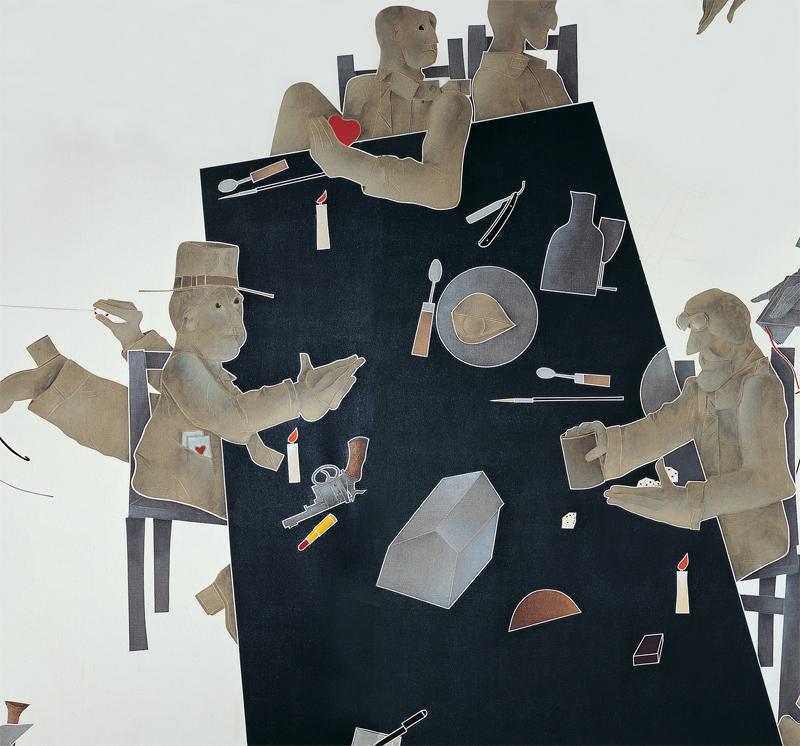 Emilio Tadini, L'occhio della pittura, dettaglio