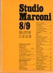 Fondazione Marconi Milano, Studio Marconi '65