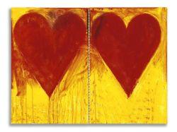 Galleria Agnellini Arte Moderna, Brescia, Jim Dine, Blue Sun, 2008, acrilico su tela, cm 150 x 202