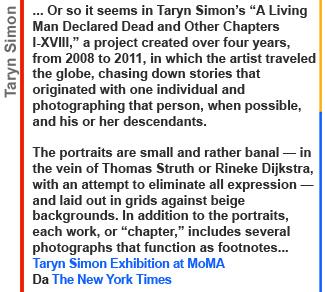 Galleria Carla Sozzani, PHOTOGRAPHY, Taryn Simon