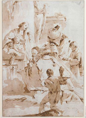 Giambattista Tiepolo, Adorazione dei Magi, 1745 ca