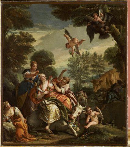 Giambattista Tiepolo, Ratto d'Europa, 1743 ca