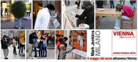 mark jenkins, il viaggio dei sensi attraverso Vienna a Milano
