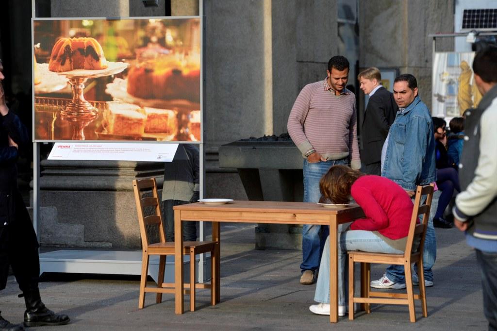Mark Jenkins, Vienna Tourist Board, Girl In The Cake