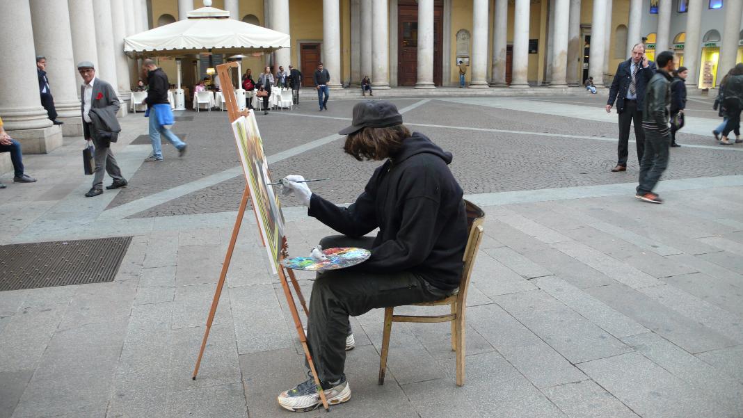 Mark Jenkins, Vienna Tourist Board, Milano Arte Expo 7