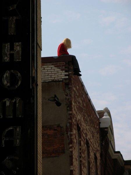 Mark Jenkis, Washington DC, roofgirl, Milano Arte Expo